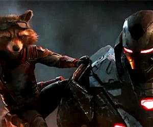 Avengers, rocket, and Don Cheadle image
