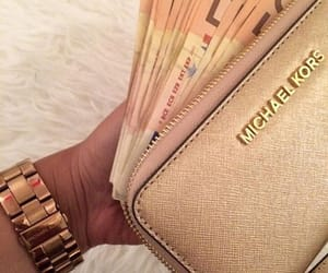 Michael Kors, money, and cash image