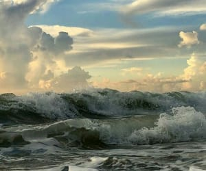 aesthetic, ocean, and sky image