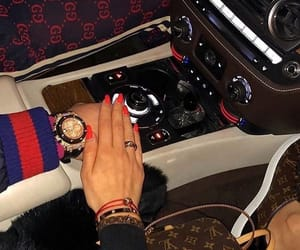 couple, car, and gucci image