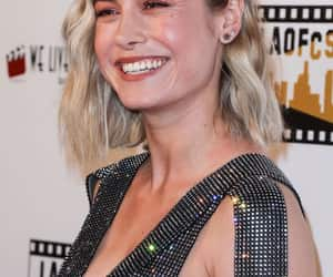 Marvel, smile, and brie larson image