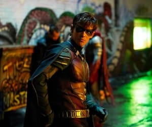 dick grayson, robin, and titans image