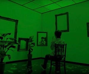 aesthetic, tumblr aesthetic, and green image