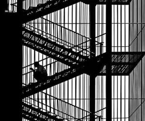 black and stairs image