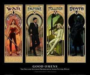 good omens and four horsemen image
