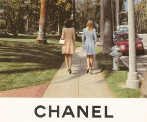 chanel, girl, and vintage image