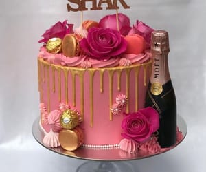 bakery, cake, and champagne image