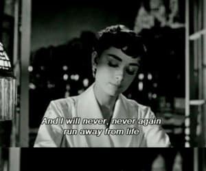audrey hepburn, quotes, and life image