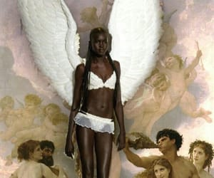 angel, model, and art image