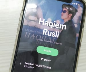 Malaysia, spotify, and haqiem rusli image