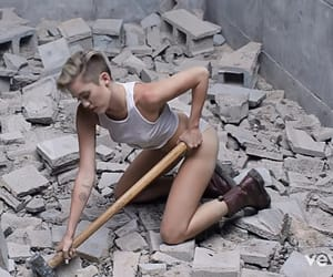 miley cyrus, woman, and music video image