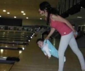 babies, baby, and bowling image