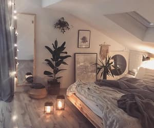 bedroom, cozy, and house image