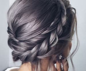 braids, hairstyle, and color hair image