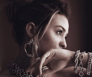 beauty, bold, and earrings image