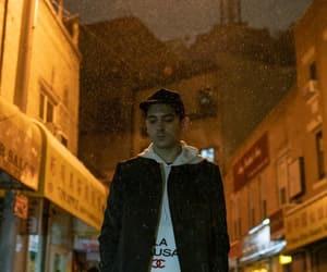 boy, night, and ny image