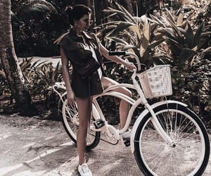 bike, fashion, and getaway image