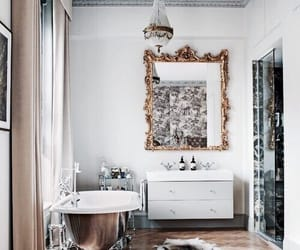 interior, home, and bathroom image