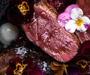 food, sens.eat, and meat image