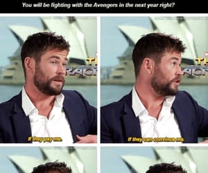 actor, thor, and australian image