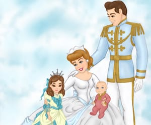 bride, cindarella, and prince image