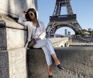 eiffel tower, paris, and outfit image