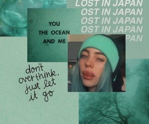 aesthetic, wallpaper, and billieeilish image