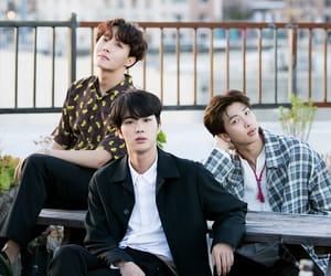 army, seokjin, and j hope image