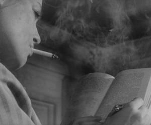 book and smoke image