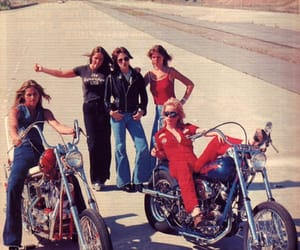 70s, bikes, and bad ass image