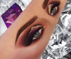 artist, eyebrows, and eyes image