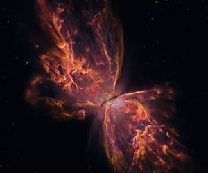 space, magnificent nature, and butterfly nebula image