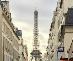 city, effel tower, and paris image