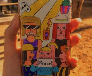 cartoons, iphone, and case image