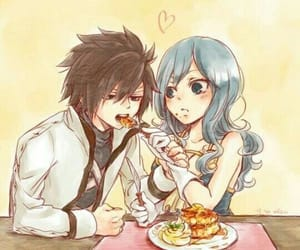 anime, juvia, and anime girl image