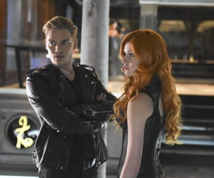 shadowhunters, jace, and clary fray image