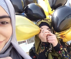 balloon, birthday, and girl image