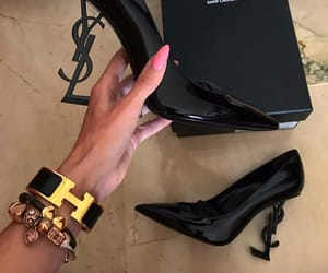 luxury, nails, and shoes image