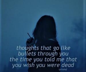 Lyrics, sleep, and thru image