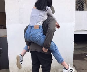 couple, love, and style image