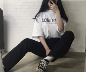 fashion, kfashion, and girl image