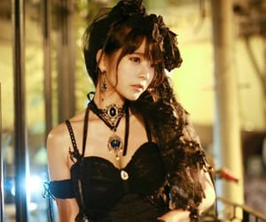 beauty, photo, and gothic image