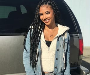 beauty, outfits, and braids image