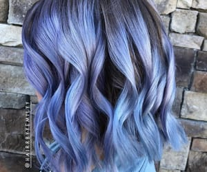 azul, blue, and blue hair image