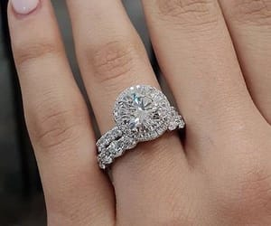 aesthetic, diamonds, and engagement image