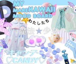 aesthetic, baby blue, and kawaii image