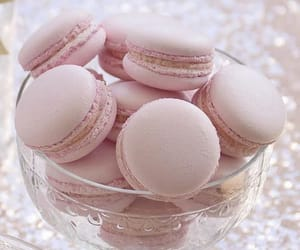 dessert, pink, and sweets image