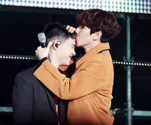 exo, d.o, and baekhyun image
