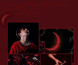 red, bts, and jungkook image