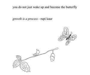 quotes, growth, and rupi kaur image